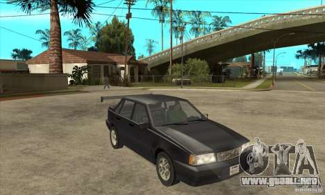 Volvo 850 GLT 1992 para GTA San Andreas vista hacia atrás