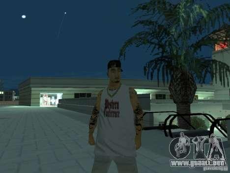 Skins Collection para GTA San Andreas sexta pantalla