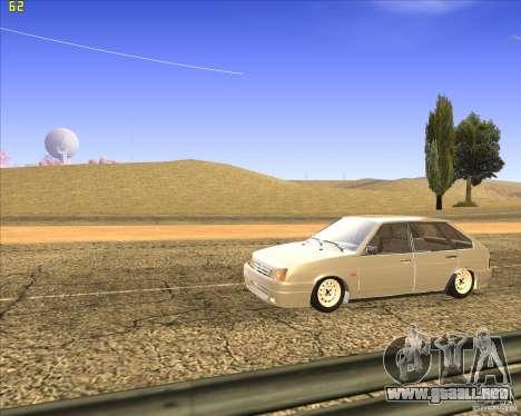 VAZ 2109 Tuning para visión interna GTA San Andreas