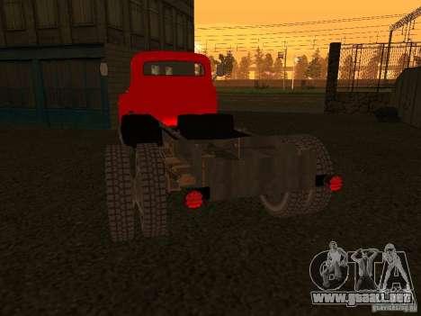 GAZ 53 camiones para la visión correcta GTA San Andreas