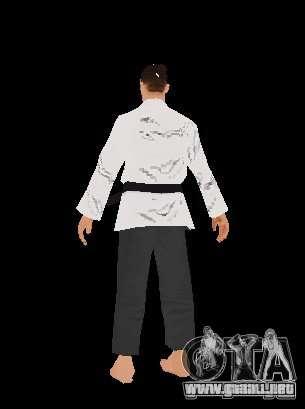 Reteksturirovannye karate para GTA San Andreas tercera pantalla