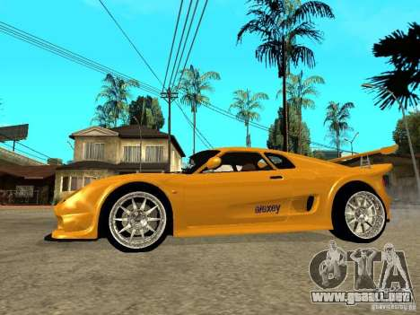 Noble M12 GTO Beta para GTA San Andreas left