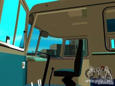 SURCO 672.60 al aire libre para GTA San Andreas vista hacia atrás