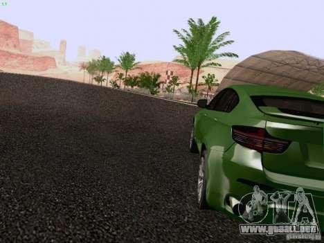 BMW X6 LT para GTA San Andreas vista posterior izquierda