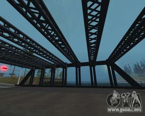 Puente en LS para GTA San Andreas tercera pantalla
