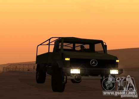 Mercedes-Benz Unimog para GTA San Andreas