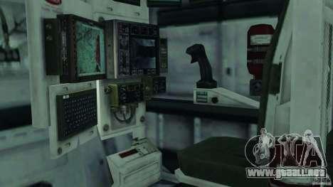 Stryker M1128 Mobile Gun System v1.0 para GTA 4 vista interior