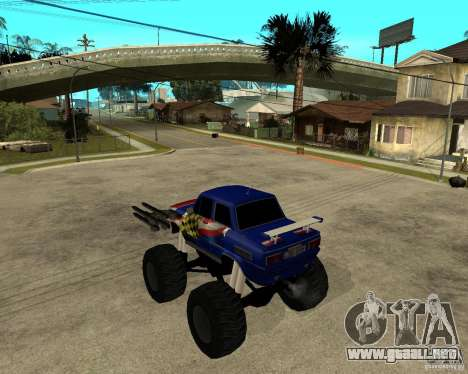MONSTRUO ZAZ para GTA San Andreas left