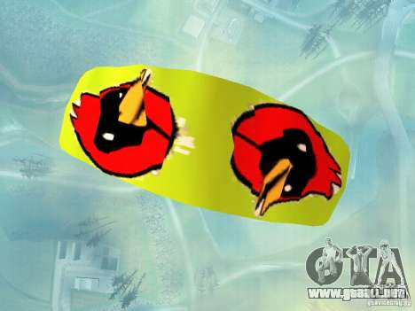 El paracaídas con el pájaro de Omsk para GTA San Andreas