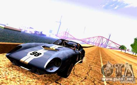 Shelby Cobra Daytona Coupe v 1.0 para GTA San Andreas