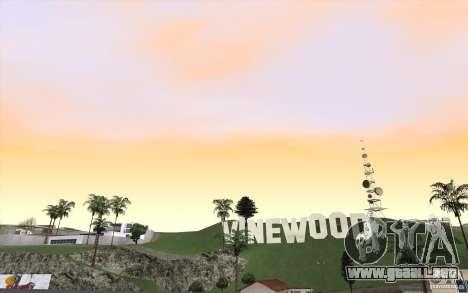 Timecyc Los Angeles para GTA San Andreas tercera pantalla