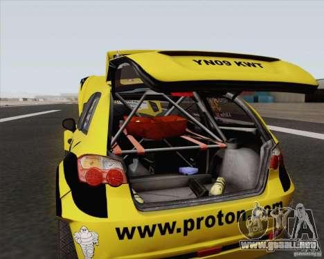 Satria Neo S2000 para la visión correcta GTA San Andreas