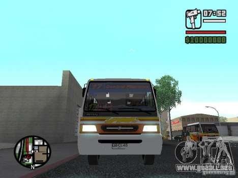 Ciferal Agilis M.Benz LO-814 BY GTABUSCL para visión interna GTA San Andreas