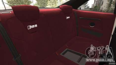Audi RS5 2011 [EPM] para GTA 4 vista lateral