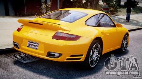 Porsche 911 Turbo V3.5 para GTA 4 vista interior