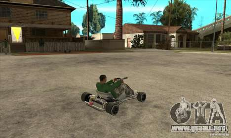 Stage 6 Kart Beta v1.0 para la visión correcta GTA San Andreas