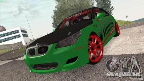 BMW M5 E60 Darius Balys para GTA San Andreas left