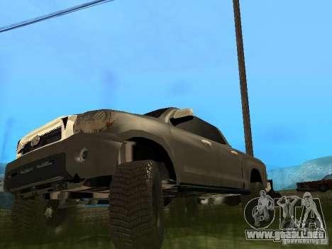 Toyota Tacoma 2011 para GTA San Andreas left