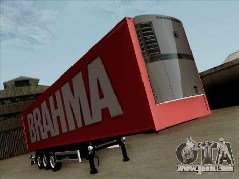Trailer de Scania R620 Brahma para GTA San Andreas left