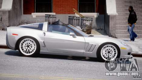 Chevrolet Corvette Grand Sport 2010 v2.0 para GTA 4 vista interior