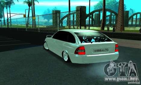 Lada Priora Rostov para la visión correcta GTA San Andreas