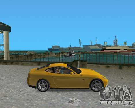Ferrari 612 Scaglietti para GTA Vice City left