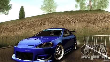 Acura RSX Spoon Sports para la visión correcta GTA San Andreas