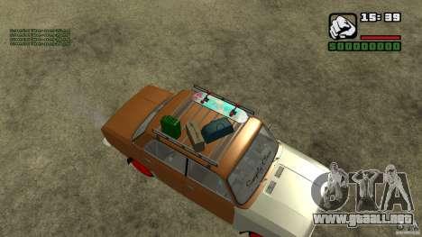 Lada 2101 OnlyDropped para GTA San Andreas vista posterior izquierda