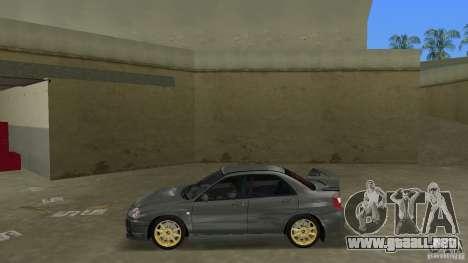 Subaru Impreza WRX STi para GTA Vice City left