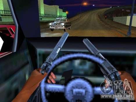 Ambulance 1987 San Andreas para GTA San Andreas interior