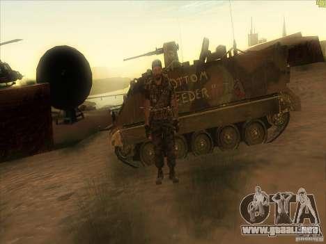 Frank Woods para GTA San Andreas séptima pantalla