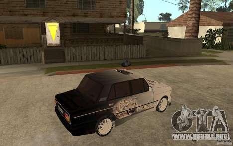 VAZ 2106 duro afinado para la visión correcta GTA San Andreas