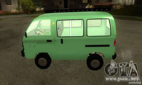 Suzuki Carry 1993 para GTA San Andreas left