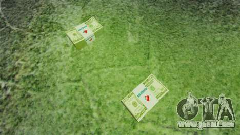 Estados Unidos los billetes en denominaciones de para GTA 4 segundos de pantalla