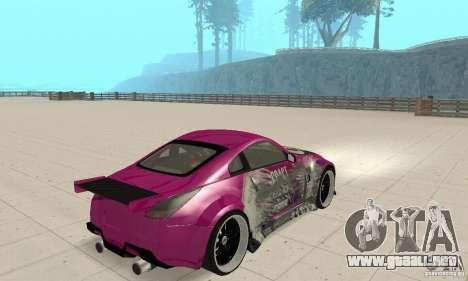 Nissan 350Z Tuning para GTA San Andreas left