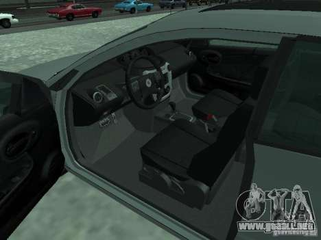 Saturn Ion Quad Coupe 2004 para GTA San Andreas vista posterior izquierda