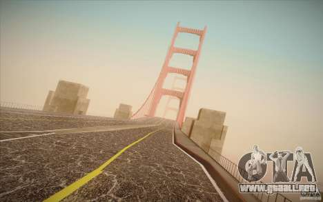 New roads San Fierro para GTA San Andreas