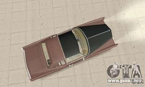 Cadillac Eldorado Biarritz 1978 para la visión correcta GTA San Andreas