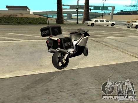 NRG-500 Police para GTA San Andreas left