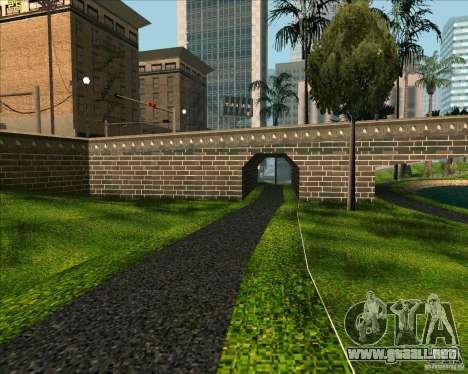El nuevo parque de Los Santos para GTA San Andreas segunda pantalla