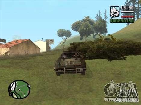 Malice from FlatOut 2 para GTA San Andreas left
