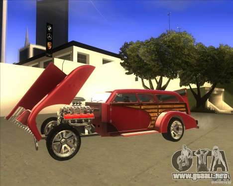 Custom Woody Hot Rod para la visión correcta GTA San Andreas