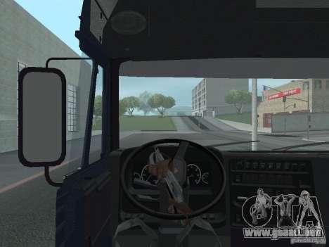 Tablero de instrumentos activos v.3.0 para GTA San Andreas sexta pantalla