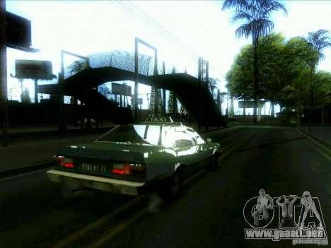 Un taxi desde dri3r para la visión correcta GTA San Andreas