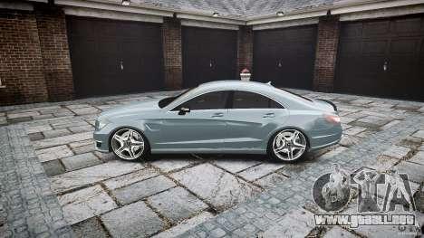 Mercedes Benz CLS 63 AMG 2012 para GTA 4 left