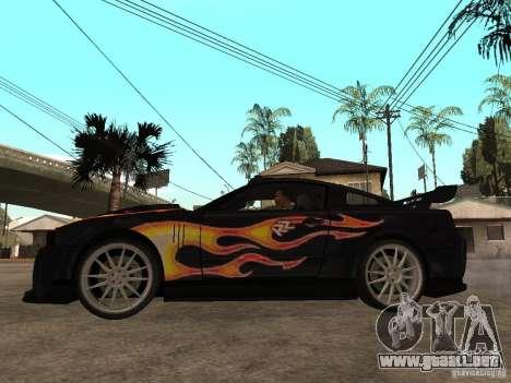 Ford Mustang GT Razor NFS MW para GTA San Andreas left