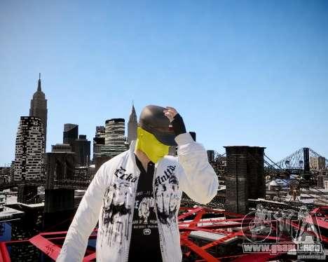 Niko The Mask para GTA 4 sexto de pantalla