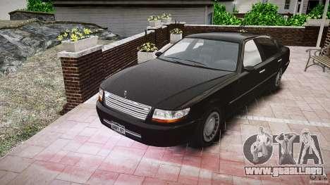 Washington FBI Car para GTA 4 vista hacia atrás