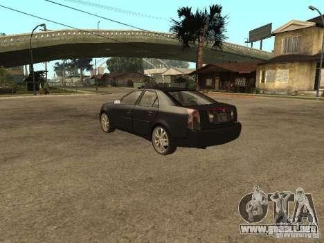 Cadillac CTS para GTA San Andreas left