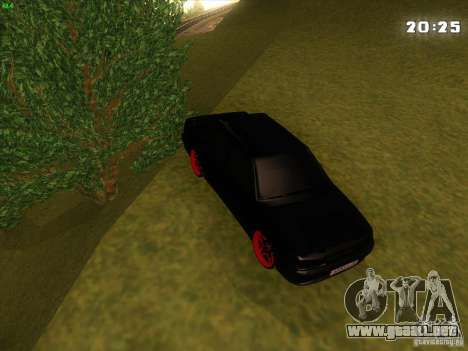 VAZ 2115 Devil Tuning para vista lateral GTA San Andreas